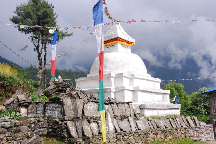 Mountain Stupa