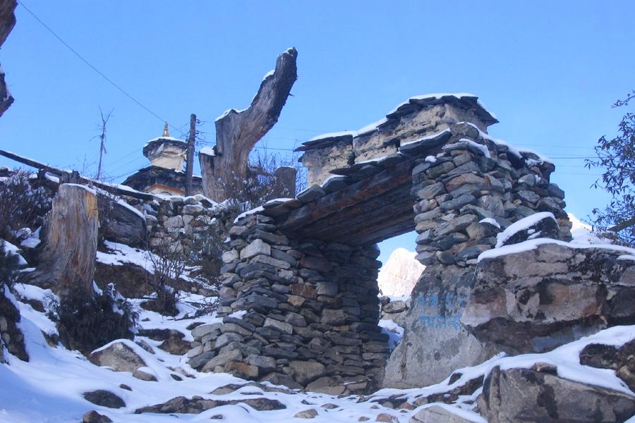 Manaslu Trek in Winter
