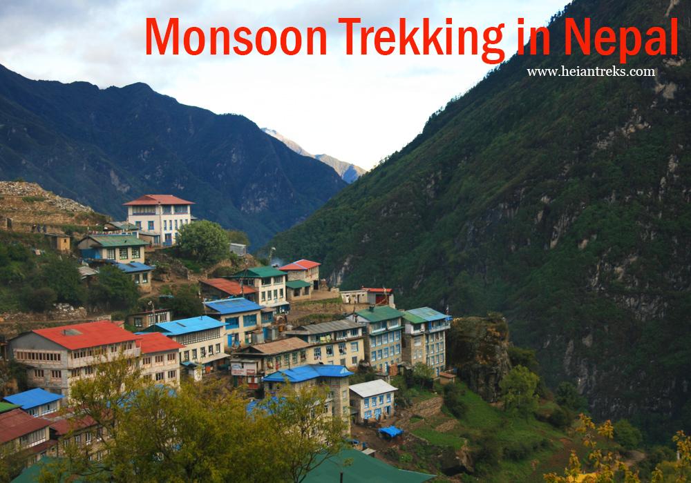 Monsoon Trekking inNepal