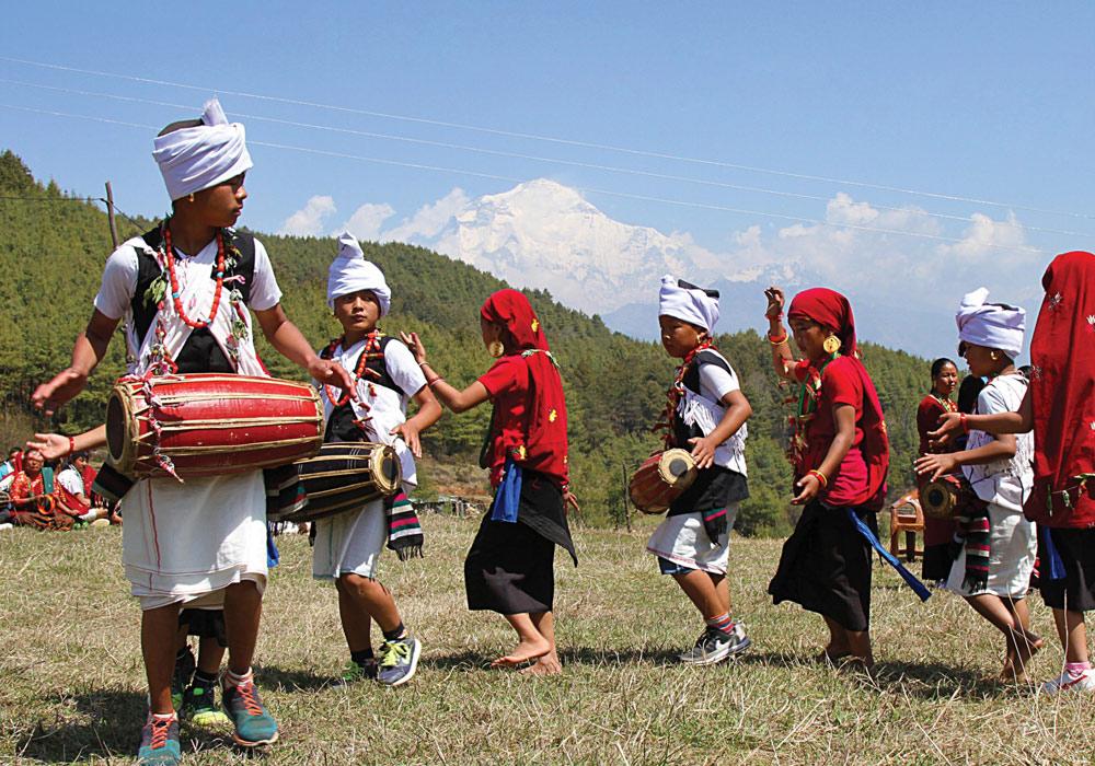 Purkheuli dance